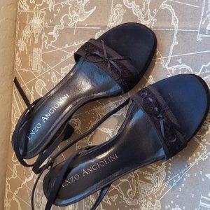 Women block heel dressy sandals